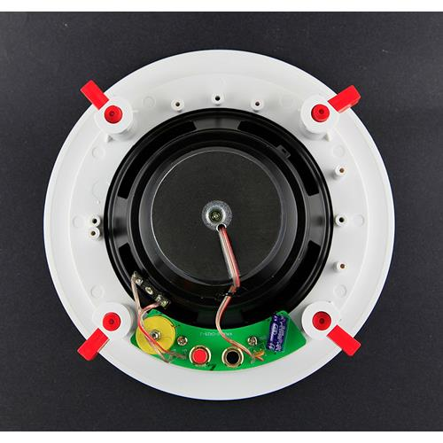Melody 6.5'' Two-Way CROSSOVER In Ceiling Speaker binding post per PAIR, 2PCs, 2 Pack
