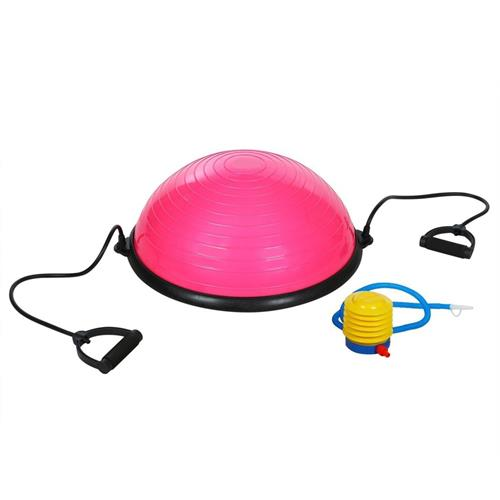 Pink Self Balance Training Exercise and Stability Ball 23 Inch