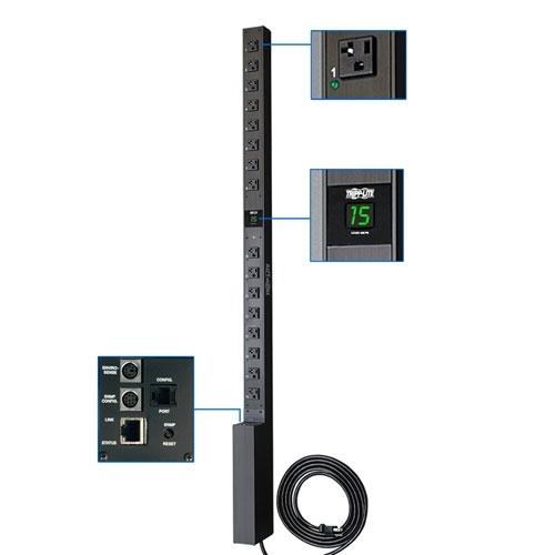 Tripp Lite PDUMV15NET PDU Switched 120V 15A 16 Outlet