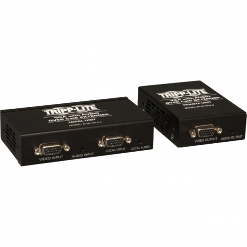 Tripp Lite VGA with Audio over Cat5 / Cat6 Extender, Transmitter and Receiver