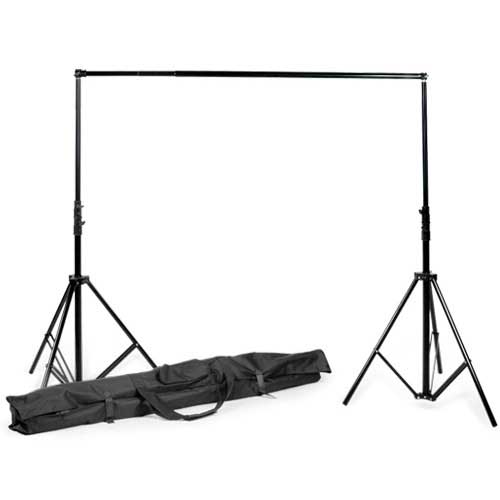 PixelCam Photography Background Backdrop Crossbar Support Kit