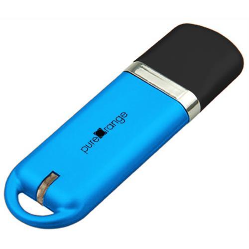 PureOrange Blue 16GB USB Flash Drive Memory Stick
