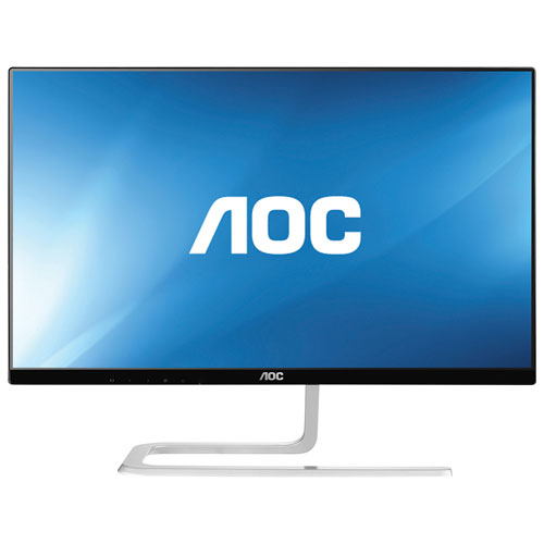 "AOC 22"" 1080p HD 60Hz 4ms IPS LED Monitor (I2281FWH) - Black/Silver"