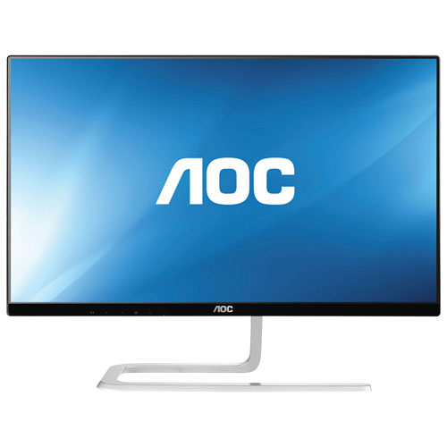 "AOC 23"" 1080p HD 60Hz 4ms IPS LED Monitor (I2381FH) - Black/Silver"