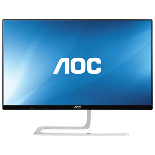 "AOC 27"" 1080p HD 60Hz 4ms IPS LED Monitor (I2781FH) - Black/Silver"
