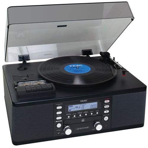 TEAC LP-R550USB-B Belt Drive USB Audio Dubbing System