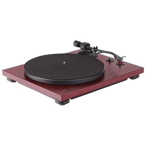 TEAC TN-400S-MR Belt Drive USB Turntable