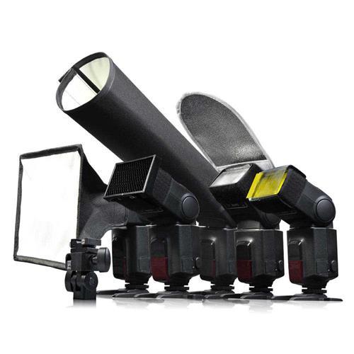 Godox 6 in 1 Flash Speedlite Accessories Kit Softbox Filter Reflector