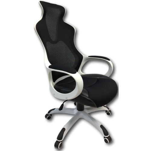 viscologic series bennox super mesh office chair yf912 black u0026 white office chairs best buy canada
