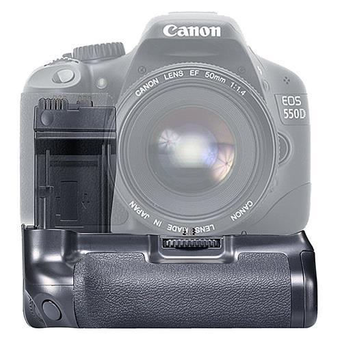 MegaPower (TM) BG-E8 Replacement Battery Grip for Canon EOS 550D 600D 700D/Rebel T2i T3i T5i SLR