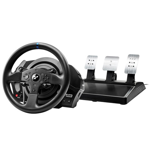 volant de course t300rs gt de thrustmaster pour ps4 ps3 playstation 4 manettes sp cialis es. Black Bedroom Furniture Sets. Home Design Ideas