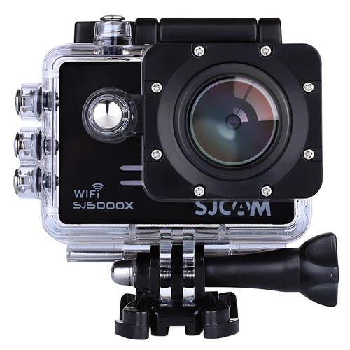SJCAM SJ5000X Elite Action Camera 4K 1080P WiFi Waterproof 12MP SONY IMX078 Gyro AV or HDMI Out And OSD Enabled (Black)