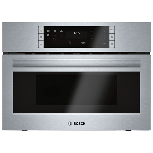 """Bosch 27"""" Built-In Microwave - Stainless Steel"""