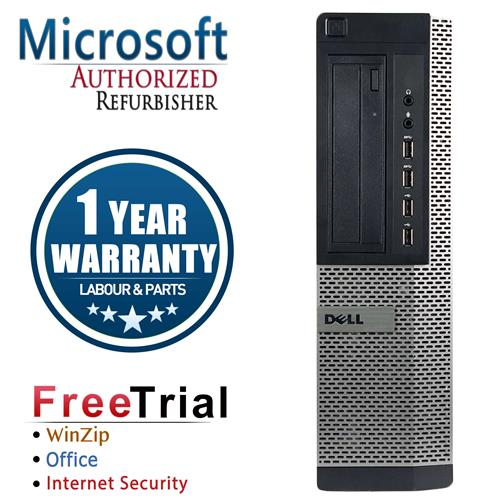 Dell 7010 Desktop Intel Core I5 3450 3.1G , 8G DDR3 RAM, 1TB, DVDRW , Windows 7 Pro 64 Bit, 1 Year Warranty-Refurbished