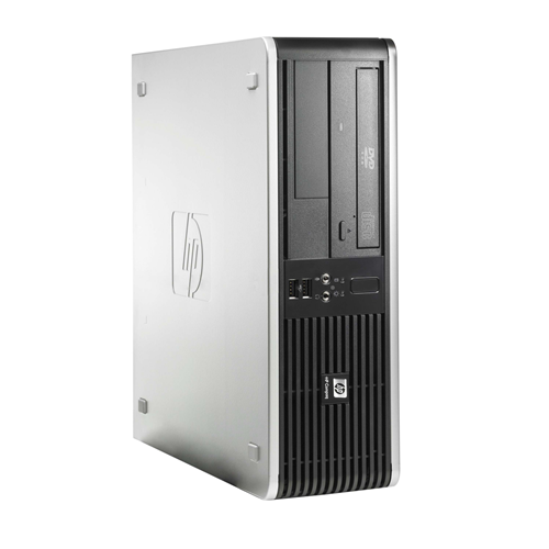 HP DC5800 Desktop SFF Intel Core 2 Duo E6550 2.33 Ghz ,2 GB DDR2 ,80 GB ,DVD-ROM,Win7 Pro 64 Bit,1 Year Warranty-Refurbished