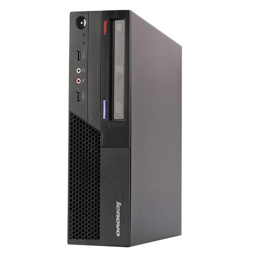 LENOVO M58P SFF Intel Core 2 Duo E8400 3.0 Ghz RAM:4 GB DDR3,Storage:160 GB,DVD-ROM,Windows 10 Professional ,1 Year Warranty-Refurb