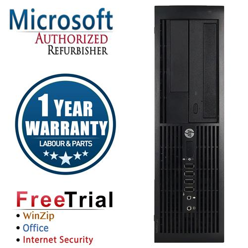 HP PRO 4000 Desktop SFF Intel Pentium E5800 3.2 Ghz ,4 GB DDR3 ,250 GB ,DVD-ROM,Win7 Pro 64 Bit,1 Year Warranty-Refurbished