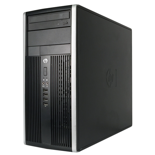 HP 6200 PRO M TOWER Intel Core i5-2400 3.1 Ghz RAM:8 GB DDR3,Storage:2 TB,DVD+/-RW,Windows 10 Professional ,1 Year Warranty-Refurb