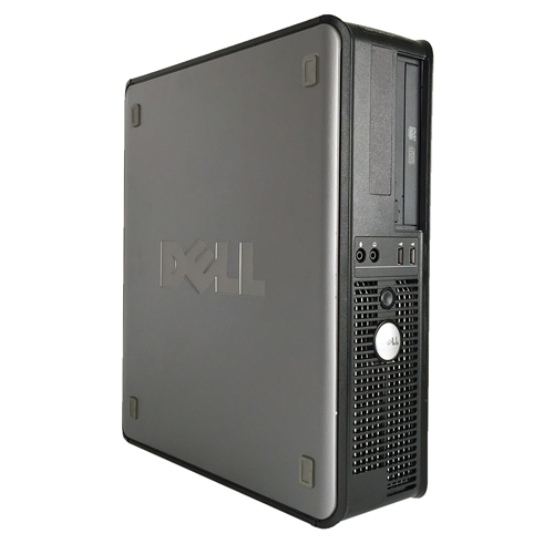 DELL GX780 Desktop Intel Core 2 Duo E8400 3.0 Ghz ,8 GB DDR3,2 TB HDD,DVD-ROM,Win7 Pro 64 Bit,1 Year Warranty-Refurbished