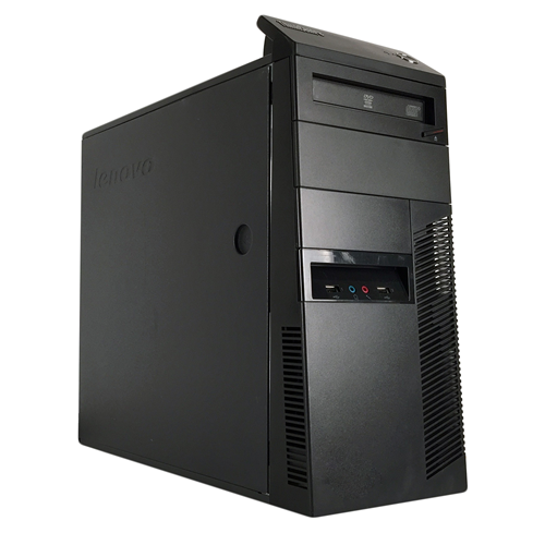 LENOVO M90P TW Intel Core i5-650 3.2 Ghz RAM:4 GB DDR3,Storage:250 GB,DVD+/-RW,Windows 7 professional 64 Bit,1 Year Warranty-Refurb
