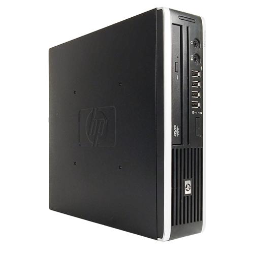 HP ELITE 8000 USFF Intel Core 2 Duo E8400 3.0 Ghz RAM:4 GB DDR3,Storage:160 GB,DVD-ROM,Windows 7 professional 64 Bit,1 Year Warranty-Refurb