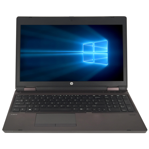 "HP 6560B 15.6"" LAPTOP Intel Core i5 2410M 2.3GHz, 4G DDR3 RAM, 250G HDD, DVDRW,Windows 10 Pro 64,1 Year Warranty-Refurbished"