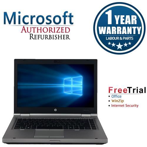 """HP EliteBook 8470P Laptop 14"""" Intel Core i5 3320M 2.6GHz, 8G DDR3 RAM, 1TB HDD, DVDRW, Windows 10 Pro 64,1 Yr Warranty-refurb"""