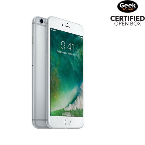 Rogers Apple iPhone 6s Plus 32GB Smartphone - Silver - Carrier SIM Locked - Open Box