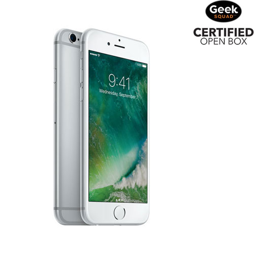 Apple iPhone 6s 32GB Smartphone - Silver - Carrier SIM Locked - Open Box