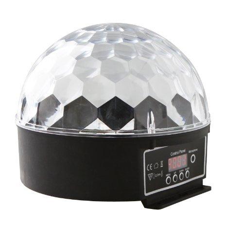 MegaPower (TM) Digital LED RGB Crystal Magic Ball Effect Light DMX Disco DJ Stage Lighting