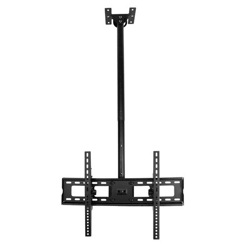 "GlobalTone Ceiling TV Mount for Flat Screen LED LCD Plasma Televisions 32"" to 65"" Black"