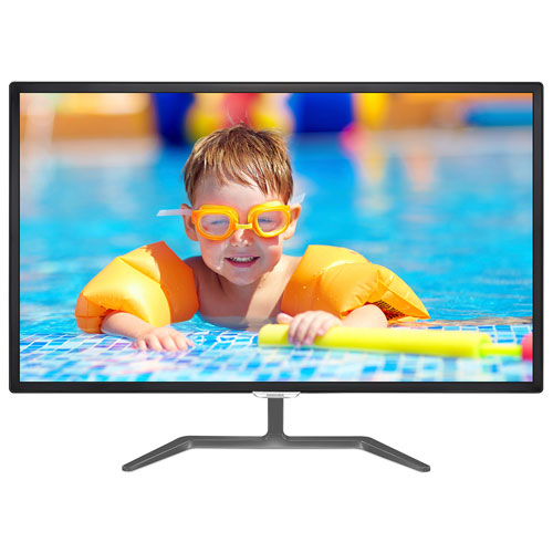 "Philips 32"" FHD 60Hz 5ms IPS LED Monitor (323E7QDAB) - Black"