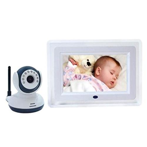 """SEGUARD 2.4G Wireless Baby Monitor with 7"""" LCD, Night Vision and 2 way speaker"""