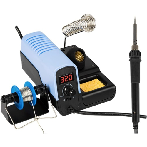 Stanz DDSS Digital Display 48W Variable Temperature Soldering Station, soldering iron, soldering gun with 4 extra tips