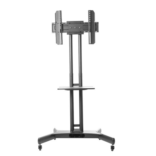 Globaltone Rolling Tv Cart Stand Mobile Trolley For Led Lcd Plasma
