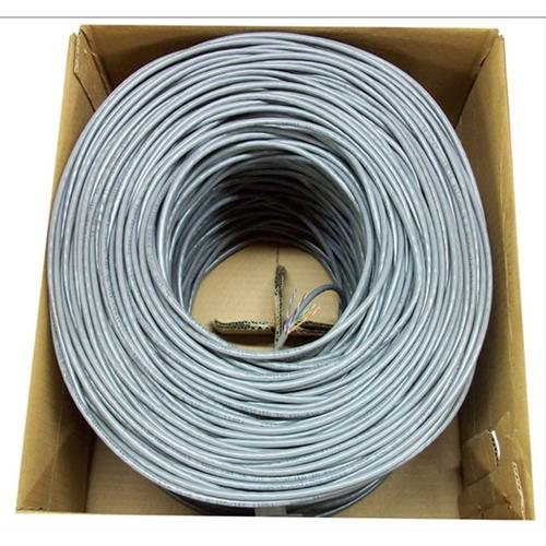 Konex (TM) 500 ft Cat 5e cat5e Ethernet LAN Cable Wire UTP Pull Box 500ft Cat-5e Grey