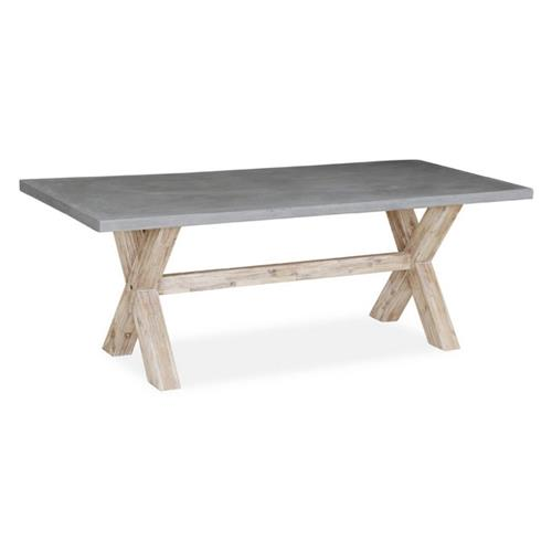 Rectangular Dining Table with Concrete Top Dining Tables Best
