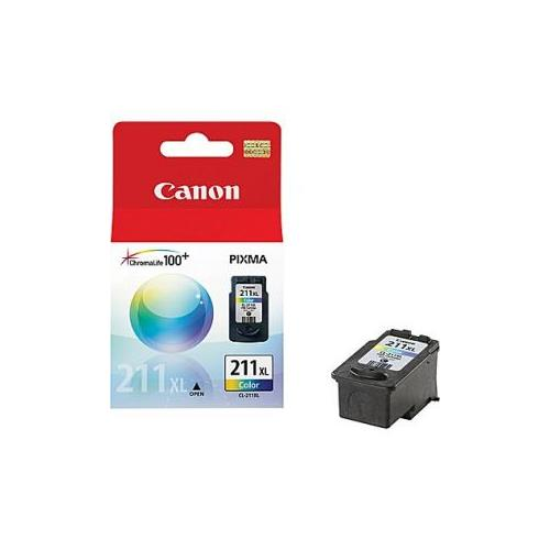 Canon CL-211XL Color Ink Cartridge High Yield - 2 Pack