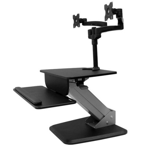 WORKSTATION & ARTICULATING DUAL MONITOR