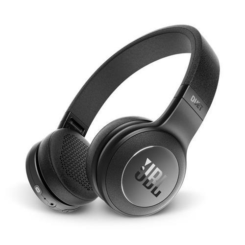Casque d'écoute Bluetooth avec microphone - DUET BT de JBL - Noir