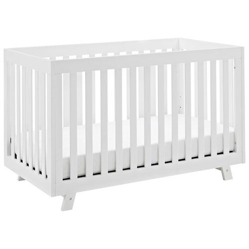 status beckett 3in1 convertible crib white baby cribs best buy canada - Convertible Baby Cribs
