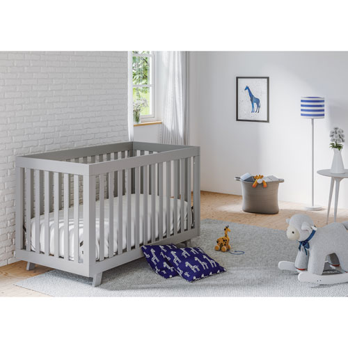 Status Beckett 3-in-1 Convertible Crib - Pebble Grey ...