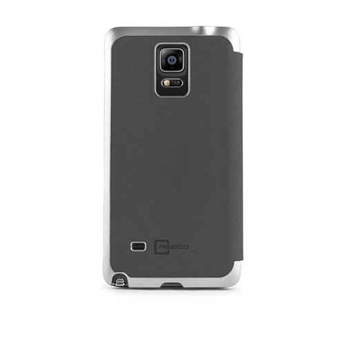 Caseco Products Wallet Case for Samsung Galaxy Note 4 - Gray