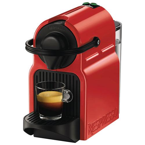 Nespresso Inissia Espresso Machine - Red : Espresso ...