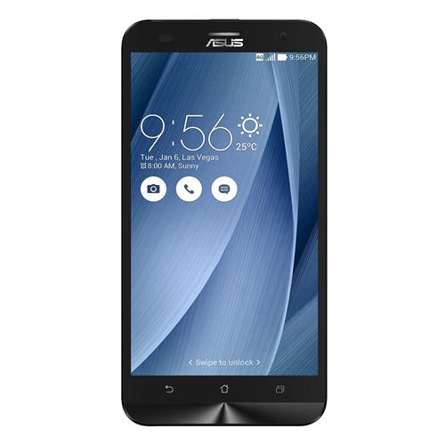 "ASUS ZenFone 2 Laser 5.5"" 16GB Unlocked Dual SIM Smartphone, Silver, English, Refurbished"