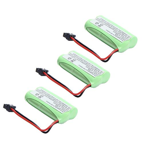 MegaPower (TM) 3x 2.4v 800mAh Home Phone Battery for Uniden BT-1021 BT-1025 BT-1008S BT-1008