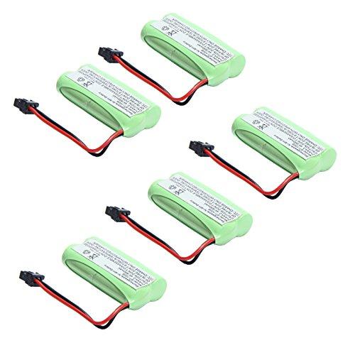 MegaPower (TM) 5x 2.4v 800mAh Home Phone Battery for Uniden BT-1021 BT-1025 BT-1008S BT-1008