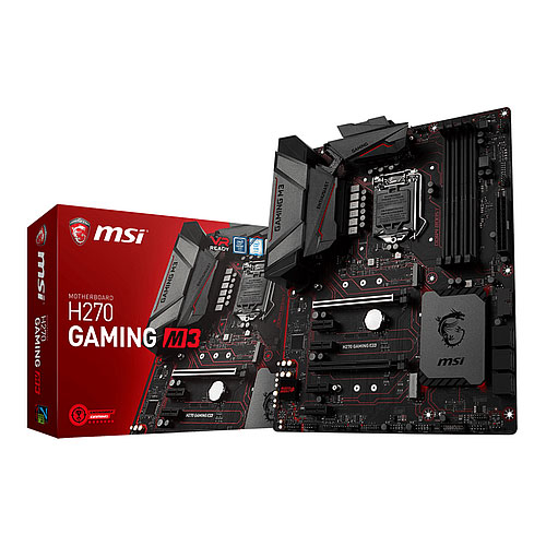 MSI H270 GAMING M3 LGA 1151 Intel Z270 USB 3.1 ATX Motherboard
