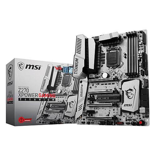 MSI Z270 XPOWER GAMING TITANIUM LGA 1151 Intel Z270 USB 3.1 Gen 2 ATX Motherboard