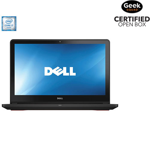 "Dell Inspiron 15.6"" Gaming Laptop - Black (Intel Core i7-6700HQ/1TB HDD/8GB RAM/Windows 10)-Open Box"